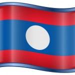 Laos Flag icon. — Stock Vector #2632418