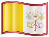 Vatican Flag icon. — Stock Vector