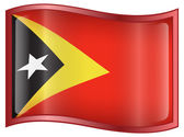 East Timor Flag icon. — Stock Vector
