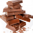 Stock Photo: Milk chocolate
