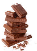 Milk chocolate — Stock Photo