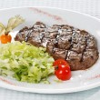 Steak dinner — Stock Photo #1089888