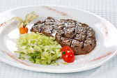 Steak dinner — Stock Photo