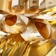 Gold bow — Stock Photo
