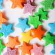 Royalty-Free Stock Photo: Colourful candy stars