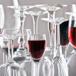 Wine glasses — Stock Photo #1099286