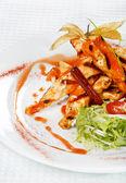 Filet de poulet grillé — Photo
