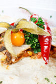 Mexican food — Stockfoto