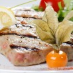Tuna steak — Stock Photo
