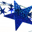 Blue stars background — Stockfoto