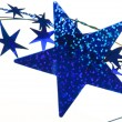 Blue stars background - Stockfoto