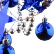 Christmas blue balls — Stock Photo #1125876