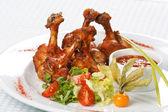 Grilled chicken legs — Stock Photo