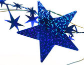 Blue stars background — Stock Photo