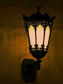 Lantern, night — Stock Photo