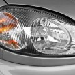 The car headlamp, close up — Stock Photo #2158535