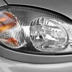 The car headlamp, close up — Stock Photo #2158535