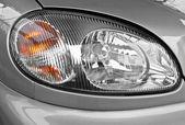 The car headlamp, close up — Stock Photo
