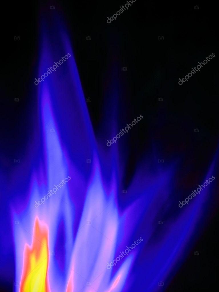 Gas flame, close-up — Stock Photo #2158333