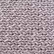 Grey woolen yarn. Background — Stock Photo