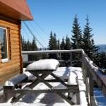 Ski Chalet — Stock Photo