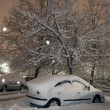 Winter parking place — Stock Photo #1272373
