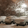 Winter parking place — Stock Photo #1272465