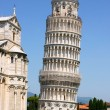 Leaning tower of pisa — 图库照片
