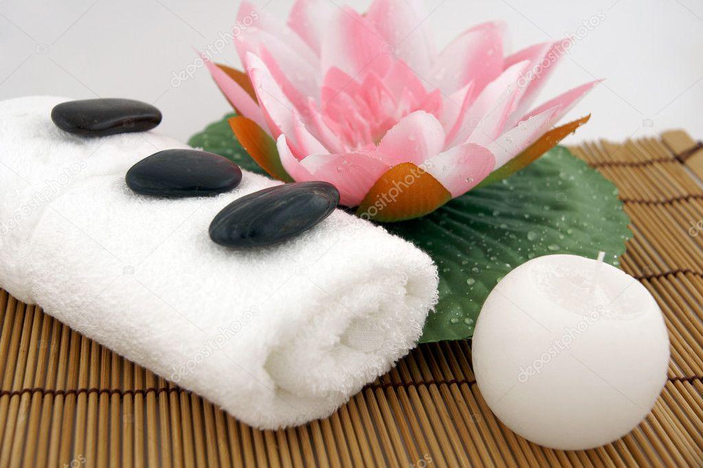 Productos para spa foto de stock fotovincek 1274390 - Articulos para spa ...