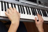 Synthesizer — Stock Photo