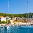 Royalty-Free Stock Photo: HVAR TOWN HARBOR, CROATIA