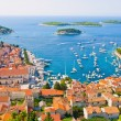 Stock Photo: HVAR IN CROATIAND SURROUNDING ISLANDS