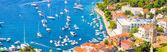 HVAR IN CROATIA AND SURROUNDING ISLANDS — Stock Photo