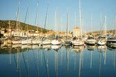 Hvar harbour, Croatia — Stock Photo