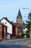 Liten stad i Tyskland — Stockfoto