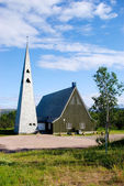 Church in northern Norway — Stock Photo