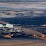 Coal open-pit — Stock Photo