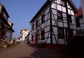 Traditional house in Germany — Stock Photo