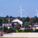 Windmill generators in Germany — Stock Photo