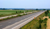Autobahn in Germany — Stock Photo