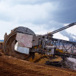 Giant wheel of bucket wheel excavator — Stock Photo #1157433