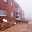 Fog in abandoned town Pier in Germany. — Stock Photo #1158171