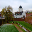 Fortress and church in Juelich, Germany — Stock Photo #1166161