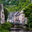 Old European town. Monschau, Germany