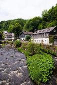 Old European town. Monschau, Germany — Stock Photo