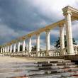 Dioscuri temple - Stock Photo