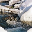 Winter stream — Stock Photo #1280483