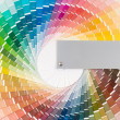 Stock Photo: Color wheel