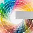 Color wheel - Stock Photo