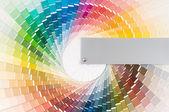 Rueda de color — Foto de Stock